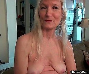 Grandma Claires old pussy needs..
