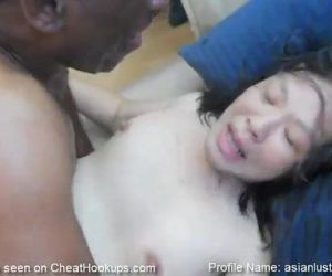 Big Butt Asian MILF Cant Stop..