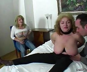 Lucky guy fucks two amazing..