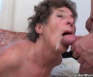 Hairy granny loves..