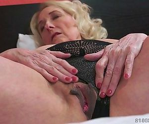 Horny Granny And Her Younger..