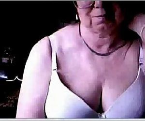 Hacked webcam caught my old mom..