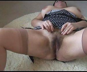 Curvy busty mature..
