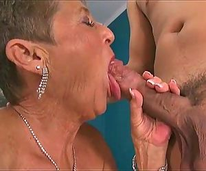 Hot Grannies Sucking Dicks..