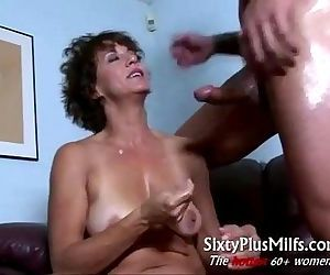 Horny natural mature housewife..