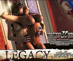 3D Comic: Legacy. Episode 6 4 min..