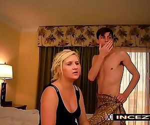 Step Mom Fucks Step Son 21 min HD