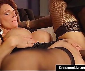 Hot Mature Cougar Deauxma Gets..