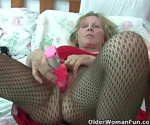Granny With Big Tits Wears..