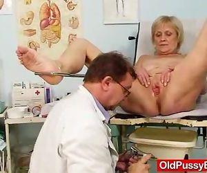 Elder grandma Brigita being muff..