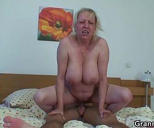 Moaning grandma..