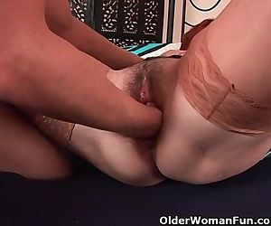 Slutty Grandma Gets Fisted Before..