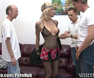 Fishnetted Granny..