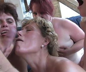 Horny old sluts n one x cock