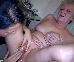 OldNanny Sexy young Girl and..