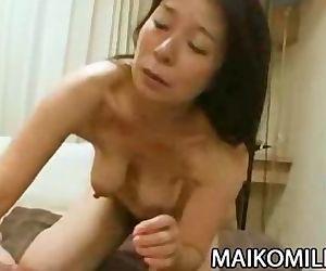 Akiko Oda - Hot Japan Granny..