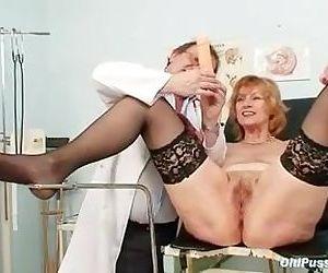 Redhead granny dirty pussy..