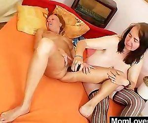 Extremely orgasmic amateur mamas..