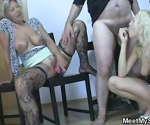 Perverted parents fuck his..