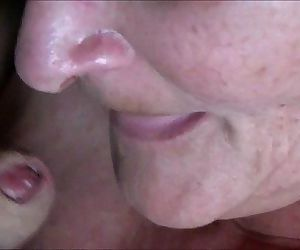 Cumming Into Granny's Mouth..