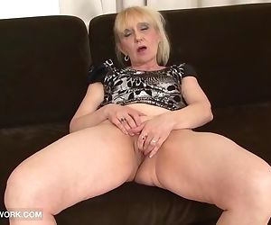 Granny Porn Old Woman Takes..
