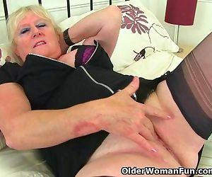English granny Claire Knight..