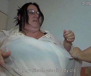 Old fat women fucking it bed - 5..