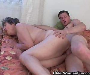 Cock Hungry Grandmother Loves..