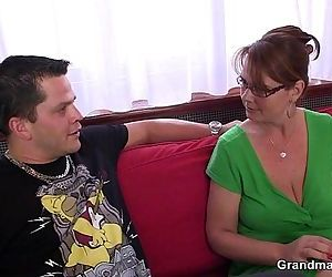 Anal loving mom jumps on cock - 6..