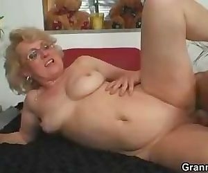 She enjoys fresh cock into her..