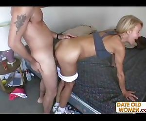 Hot GILF with..