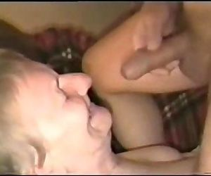 Cumming on face of my old..