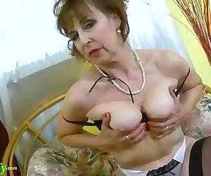 OldNannY Hot Horny Grandma..