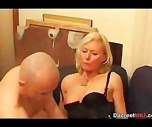 Casting French Blonde Mature..