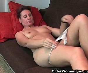 Mature Milf With Hard Nipples And..