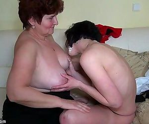 Older women fucking with younger..