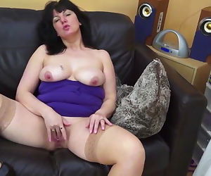 Kinky mature mom and wife with..