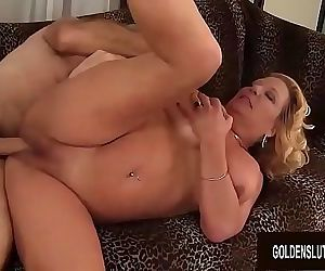 Blonde GILF Karen Summers Has Her..