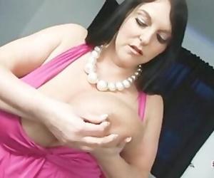 Carol Brown Melons Play & Dildo..