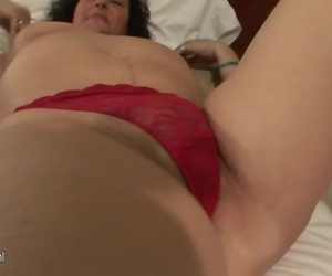 Busty mature mothers going to..