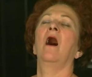 Retro Granny Gets Hot Dicking..