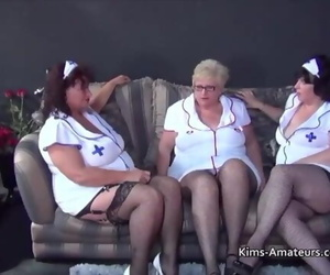 Three BBW Grannies..