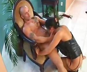 Hot asian slave Christina Aguchi ravaged hardcore!