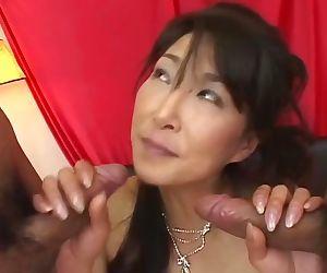 Mature japanese Milf who Love Creampie