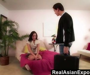 RealAsianExposed - Amia Miley Is One Naughty Babysitter