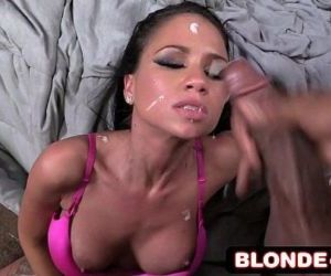 Interracial Monster Cock Cumshot Compilation #4 - Riley..