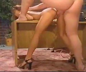 Asian mature secretary - 10 min
