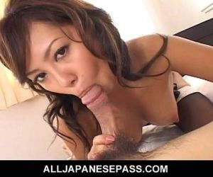 Hot MiLF sucks balls and has her pussy pounded for her..