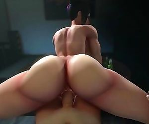 Juri Han Gets Her Big Ass FUCKED Hard & Deepthroats Big..