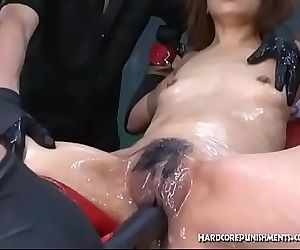 BDSM Extreme Action With Bondage Toys and Orgasms 8 min